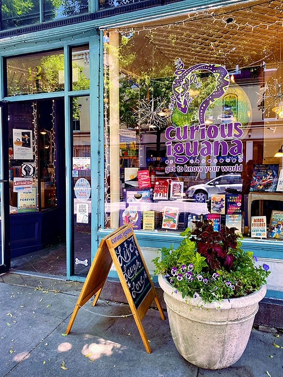 Curious Iguana Bookstore in Frederick Maryland