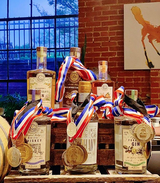 McClintock Distillery - one of the Frederick  Distilleries