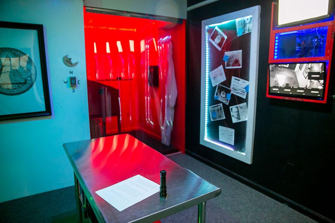 Clue IQ Escape Room in Frederick MD
