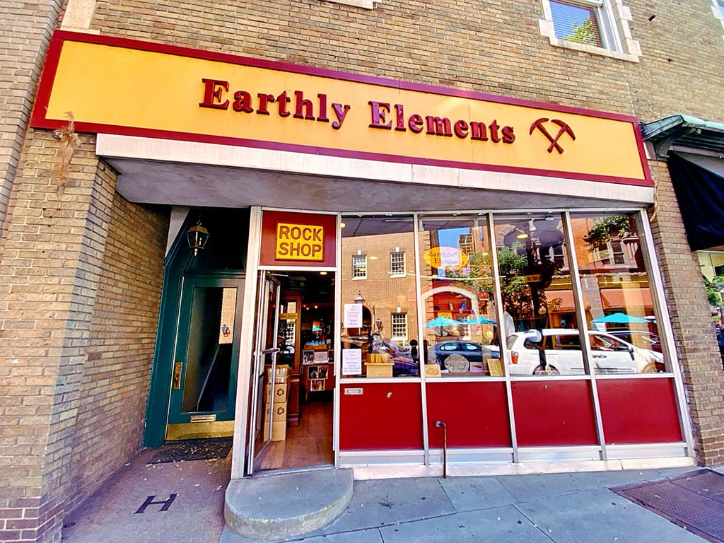 Shopping at Earthly Elements in Frederick Maryland