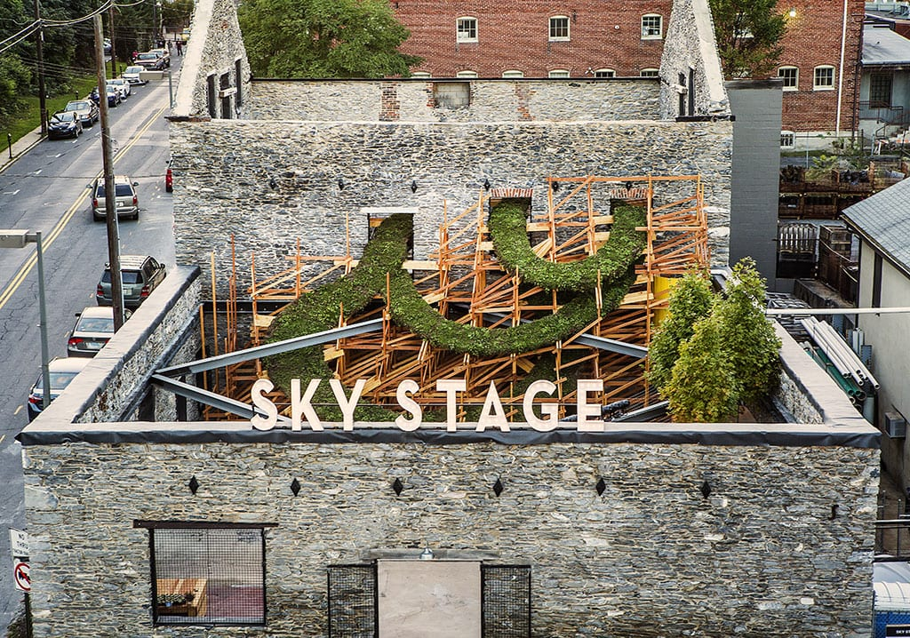 Sky Stage in Frederick Maryland