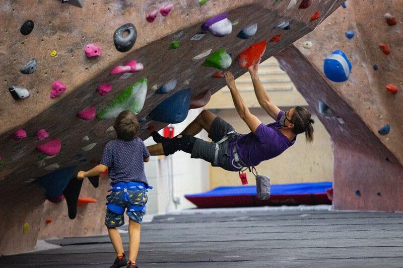 Rockville Maryland Eathtreks climbing gym
