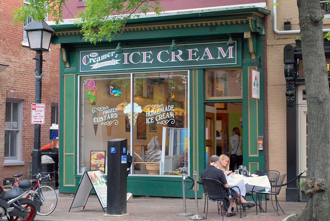 Ice Cream in Alexandria VA at The Creamery