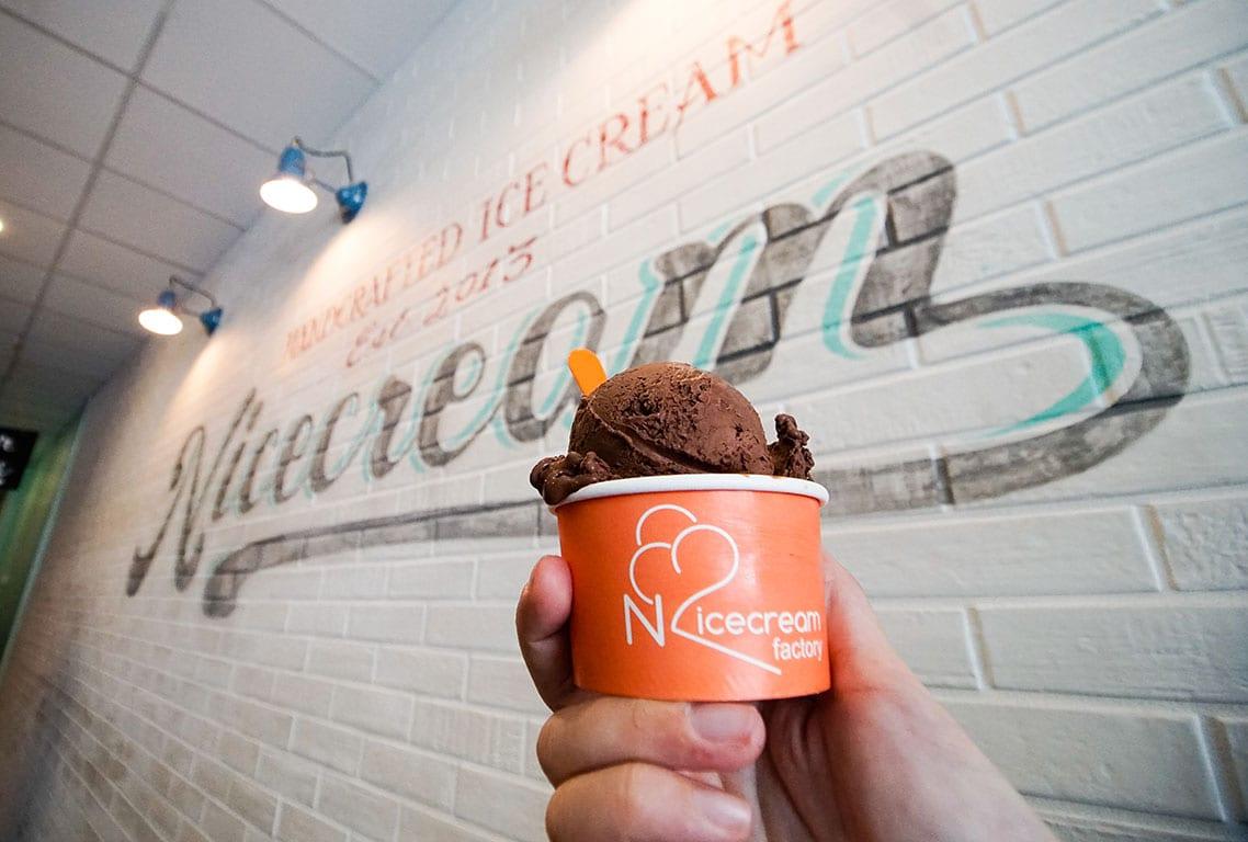 Ice Cream in Alexandria VA at Nicecream