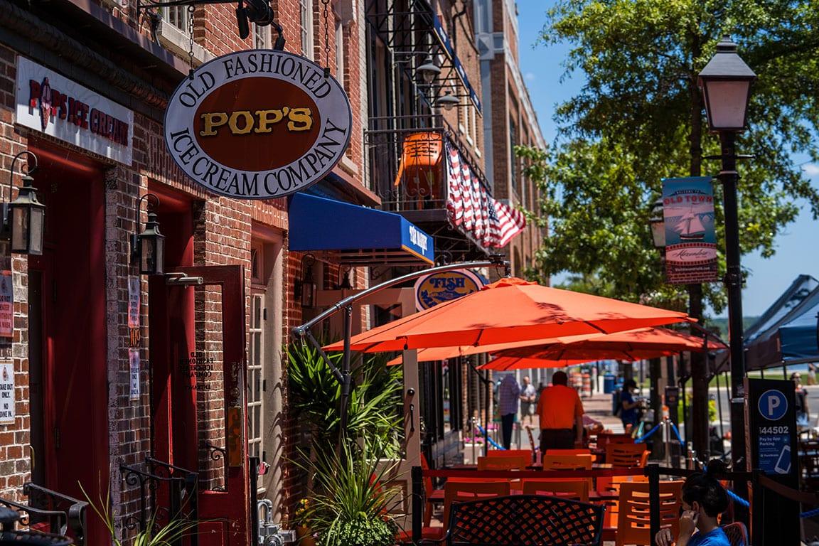 Ice Cream in Alexandria VA at Pop's Ice Cream