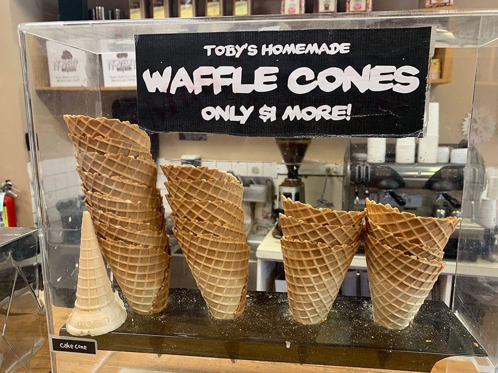 Tobys Ice Cream in Arlington VA