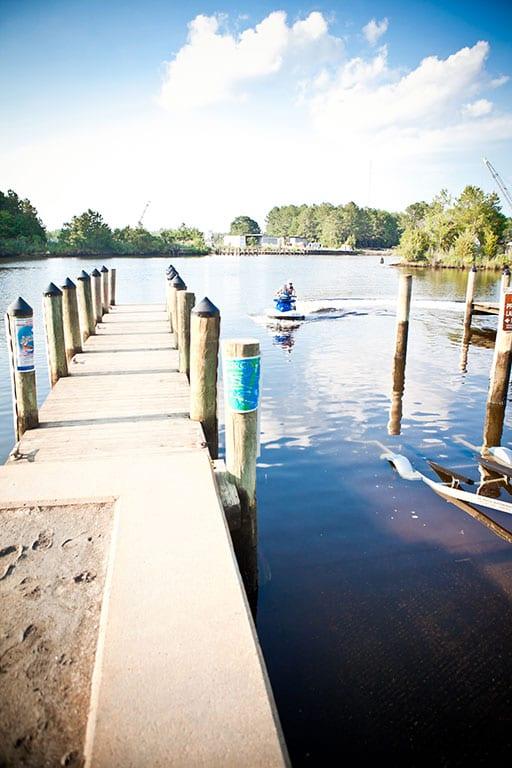Great Bridge Lock Park in Chesapeake VA