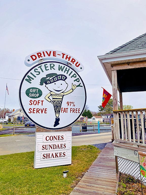 Ice cream in Chincoteague - Mister Whippy
