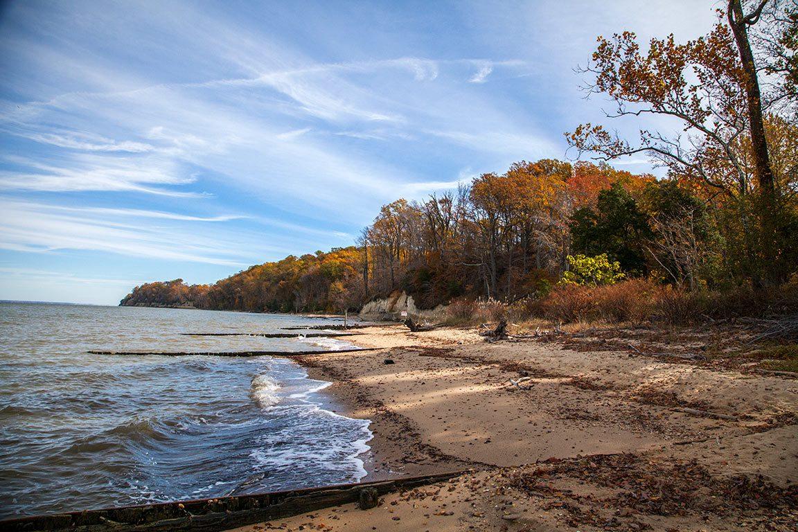 Colonial Beach in Virginia
