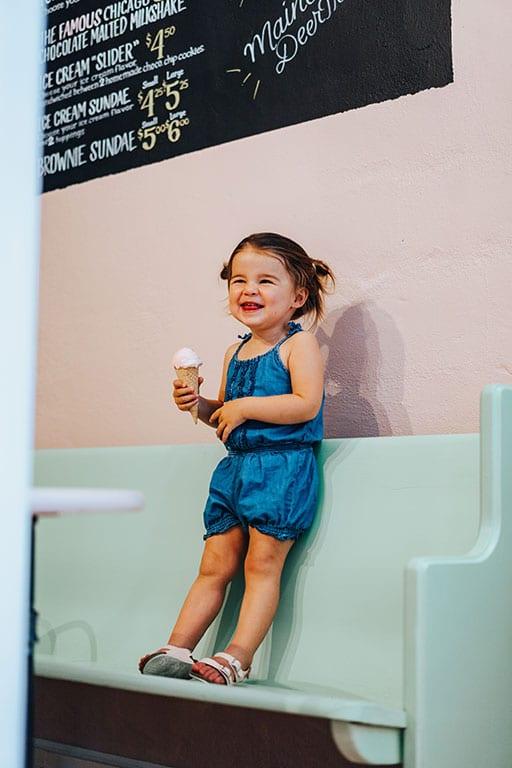 Ice Cream in Culpeper VA at Scoops on Davis