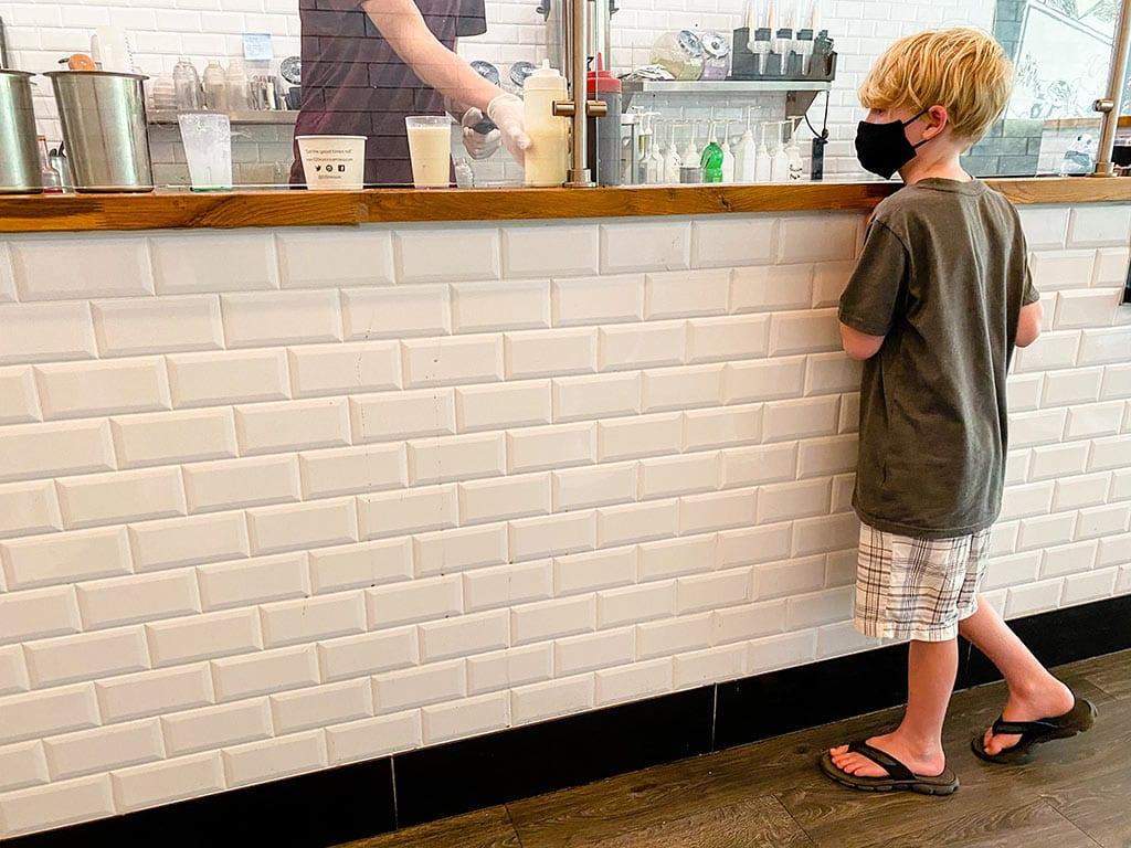 520 Ice Cream Roll and Tea Mosaic