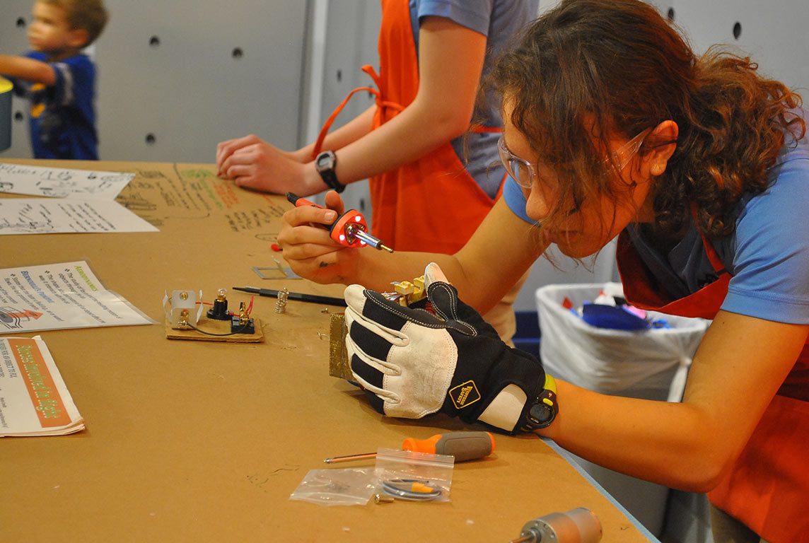Children's Science Center Lab in Fairfax County Virginia