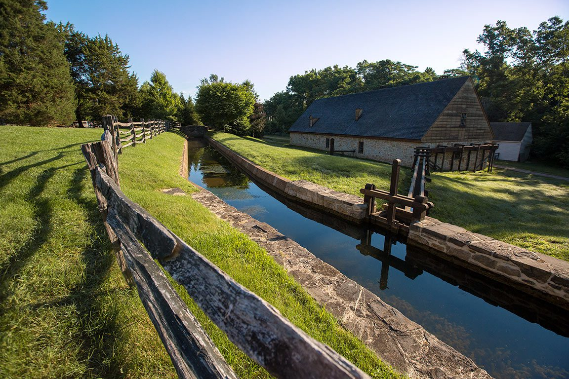 George Washington Distillery and Gristmill in Virginia
