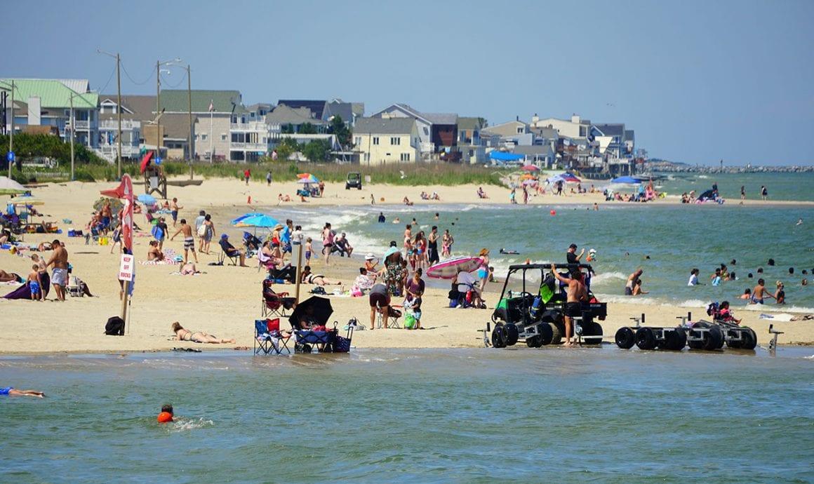 Buckroe Beach in Hampton Virginia