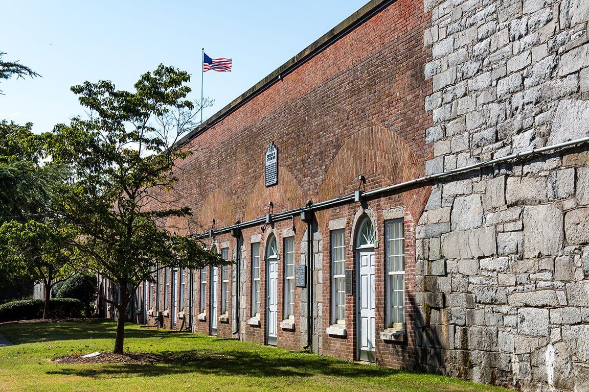 Casemate Museum at Fort Monroe in Hampton Virginia