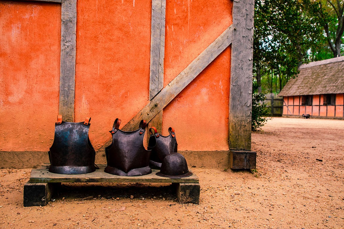 Jamestown Settlement in Jamestown Maryland