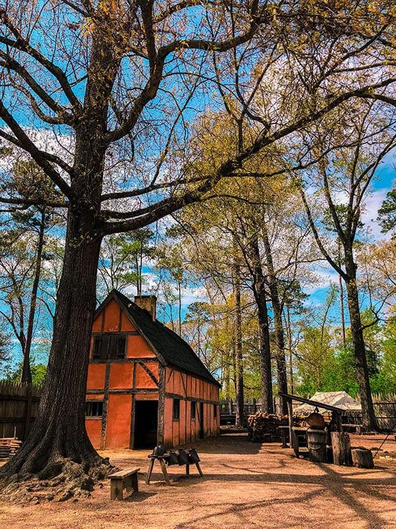 Jamestown Settlement in Jamestown Maryland