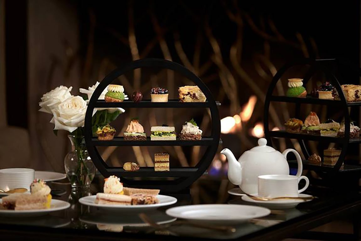 Afternoon tea at the Ritz Carlton Hotel in Pentagon City