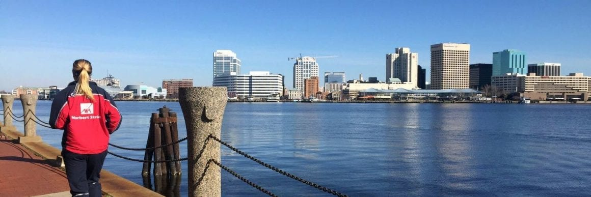 Portsmouth Norfolk skyline view