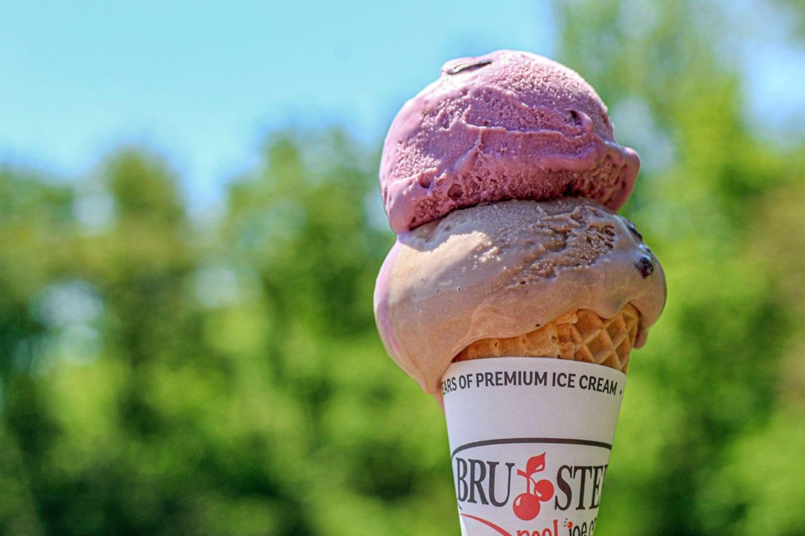 Brusters Ice Cream in Roanoke VA