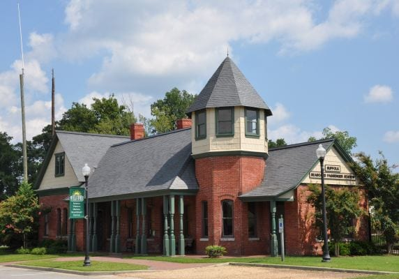 Suffolk Seaboard Railroad Museum in Suffolk Virginia