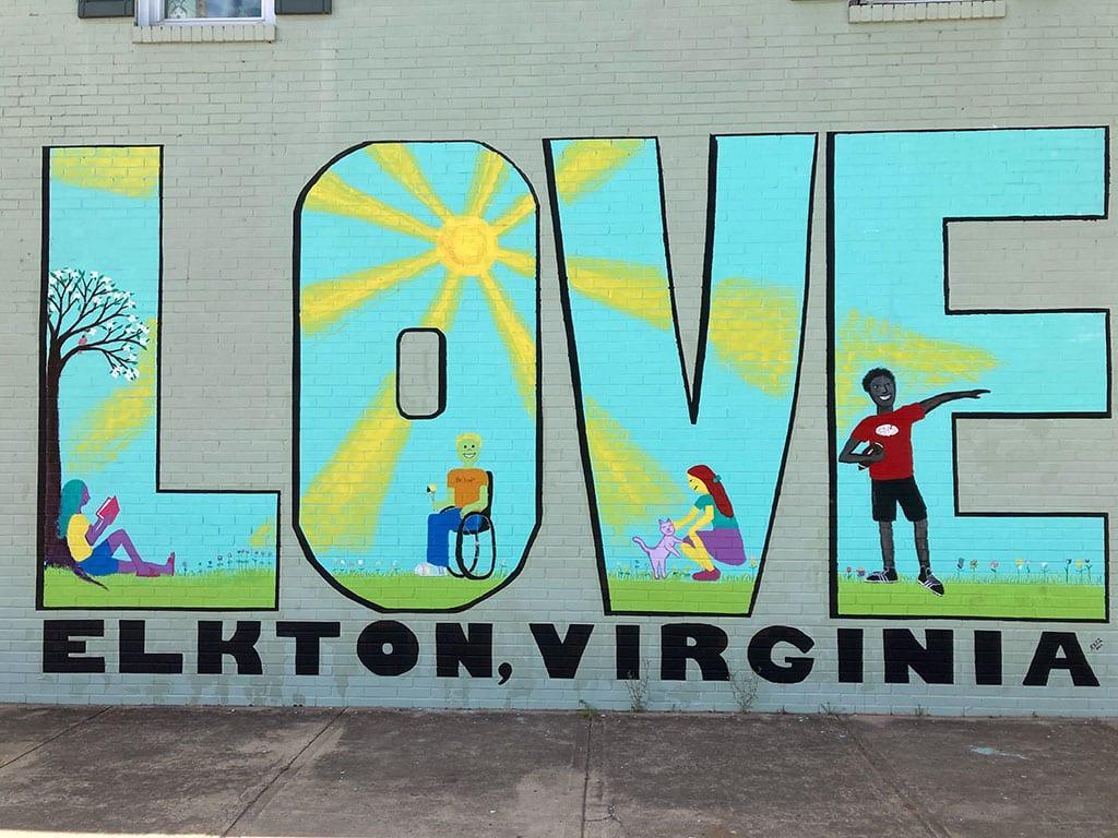 VA Love Signs