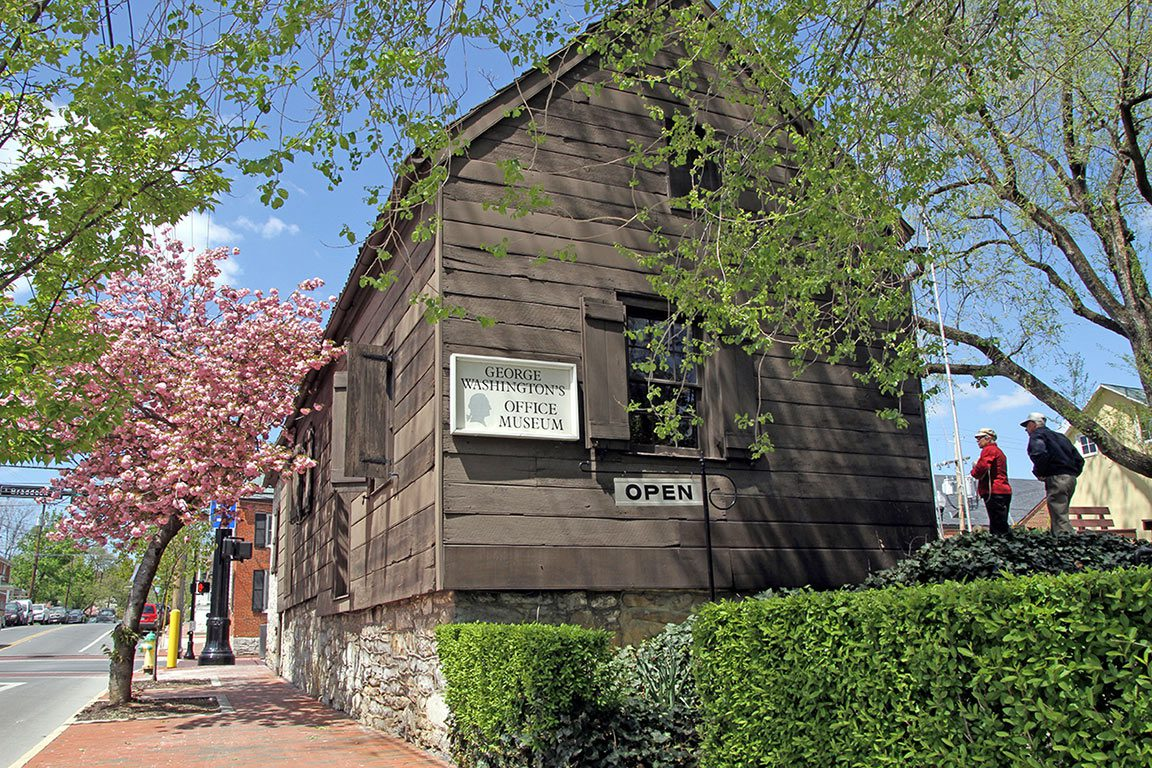 George Washington Office in Winchester VA