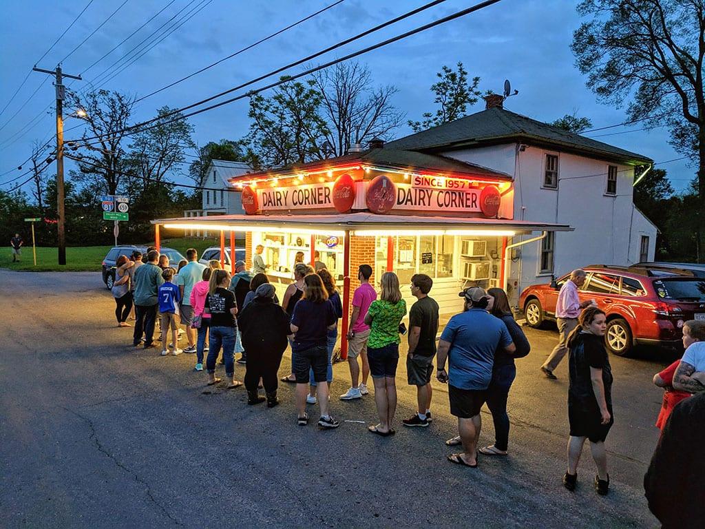 The Dairy Corner in Winchester VA