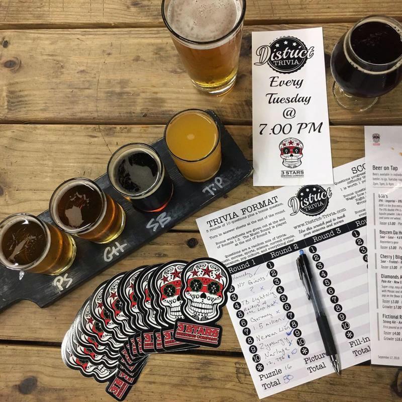 Washington DC breweries - 3 Star Brewing Company