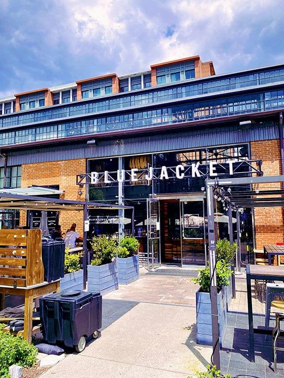 Breweries in DC - Bluejacket