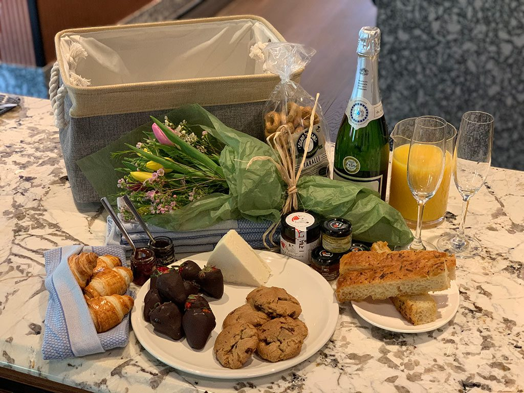 Hamilton Hotel Mothers Day Basket