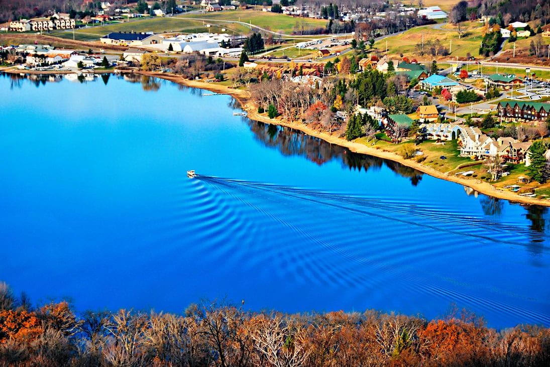 Deep Creek Lake in Maryland