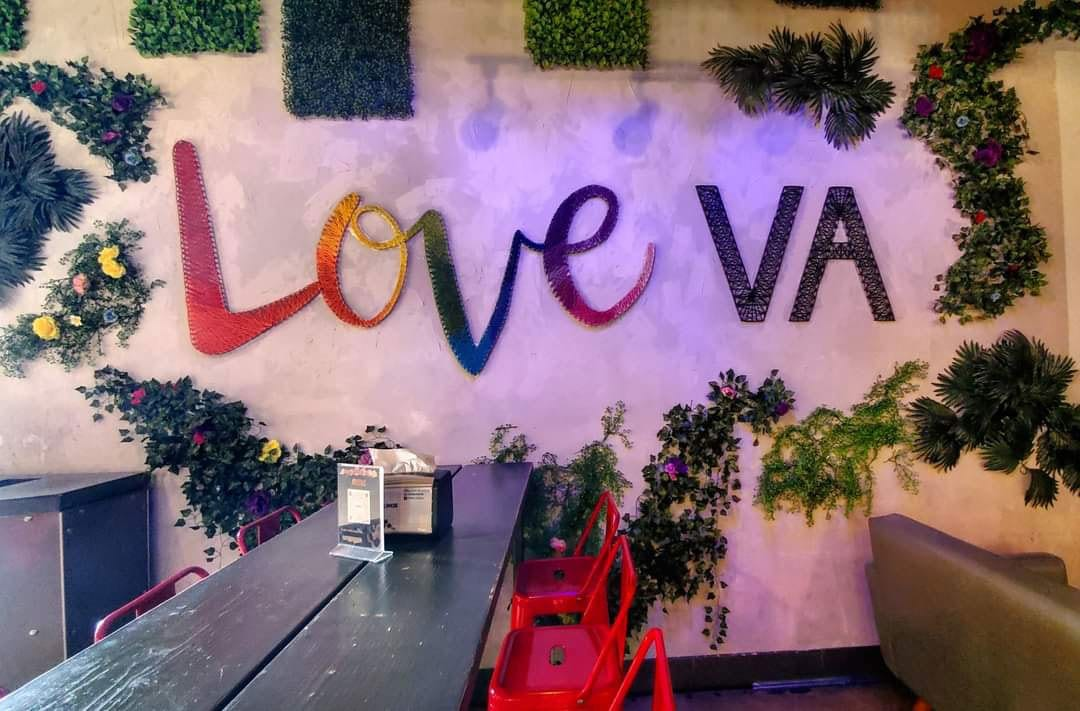 Virginia LOVE Signs in Annandale VA