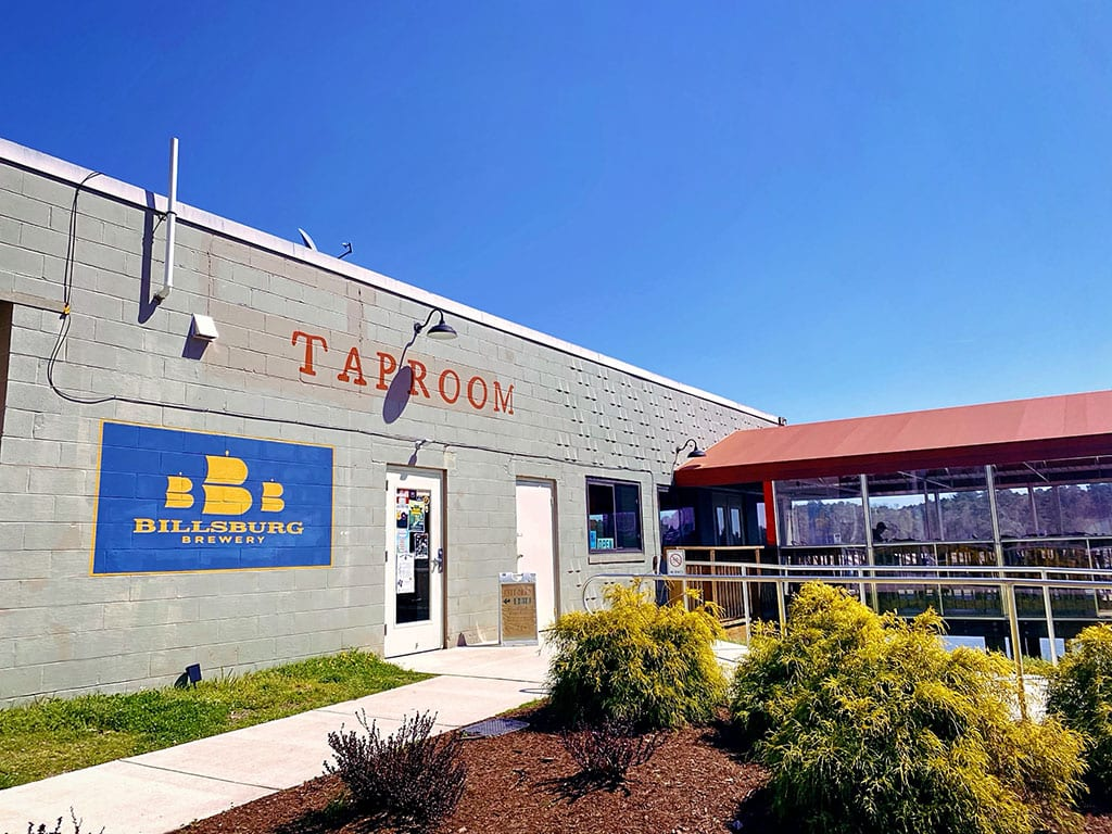 Billsburg Brewery in Jamestown VA