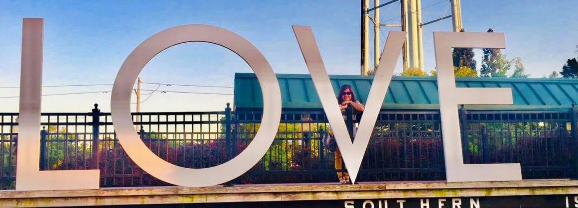 Virginia LOVE Signs in Manassas VA