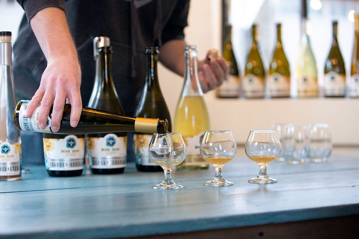 Blue Bee Cider in Richmond VA
