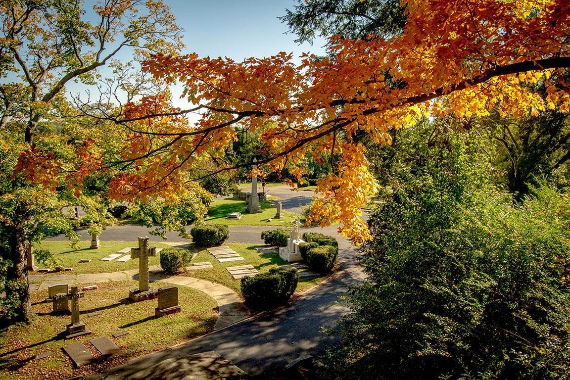 Hollywood Cemetery in Richmond VA