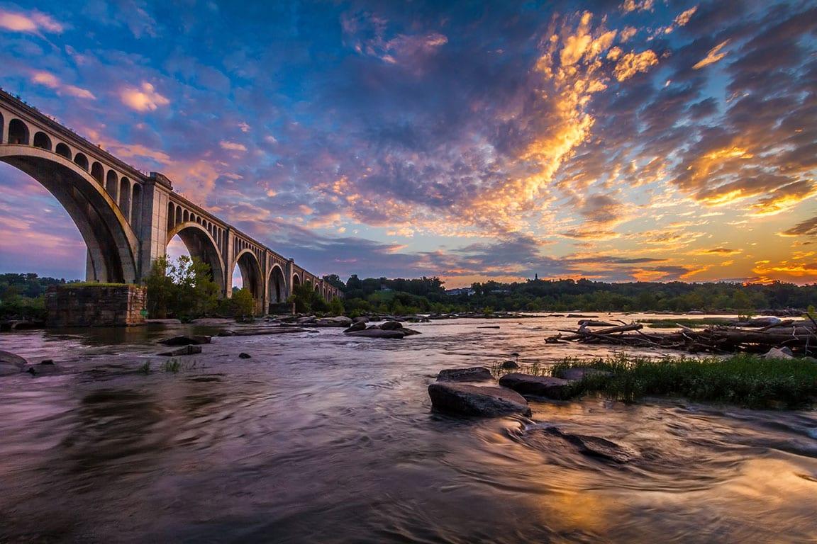 James River in Richmond VA