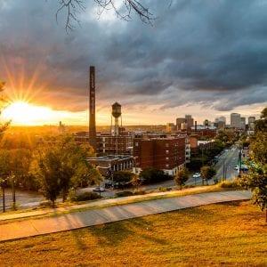 Libby Hill in Richmond Virginia