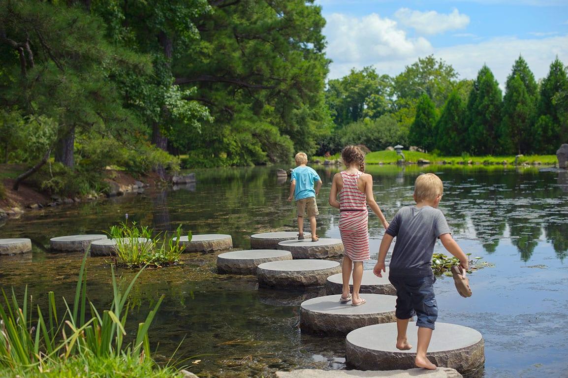 Maymont Japanese Garden in Richmond Virginia