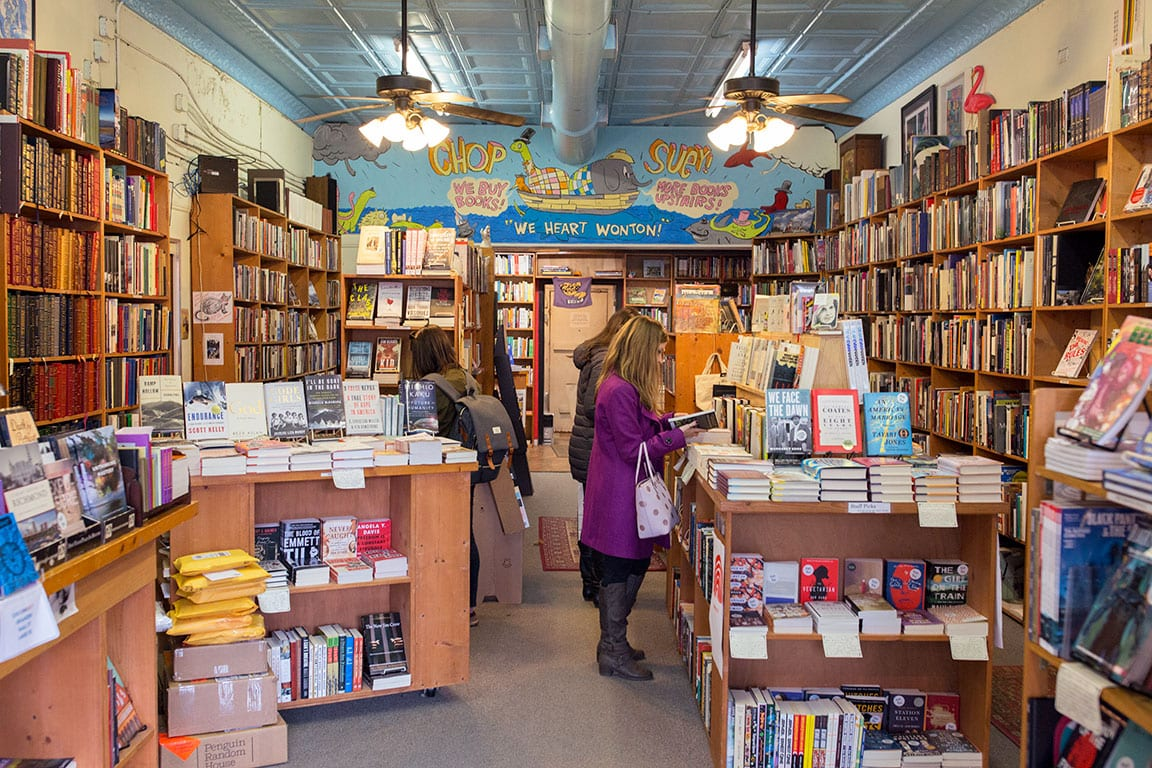 Chop Suey Books in Carytown Richmond Virginia