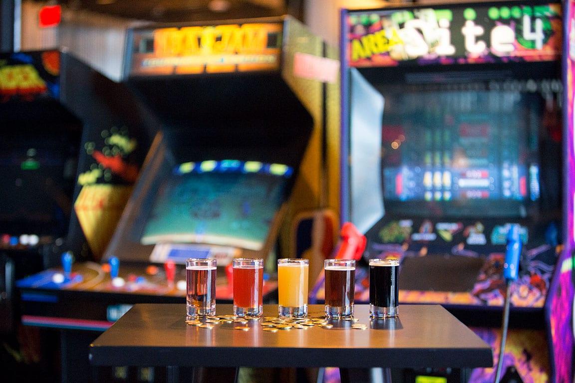 The Circuit arcade bar in Richmond VA