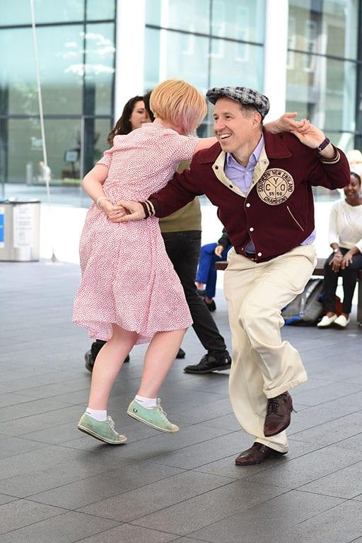 Washington DC Date Night Ideas - swing dancing
