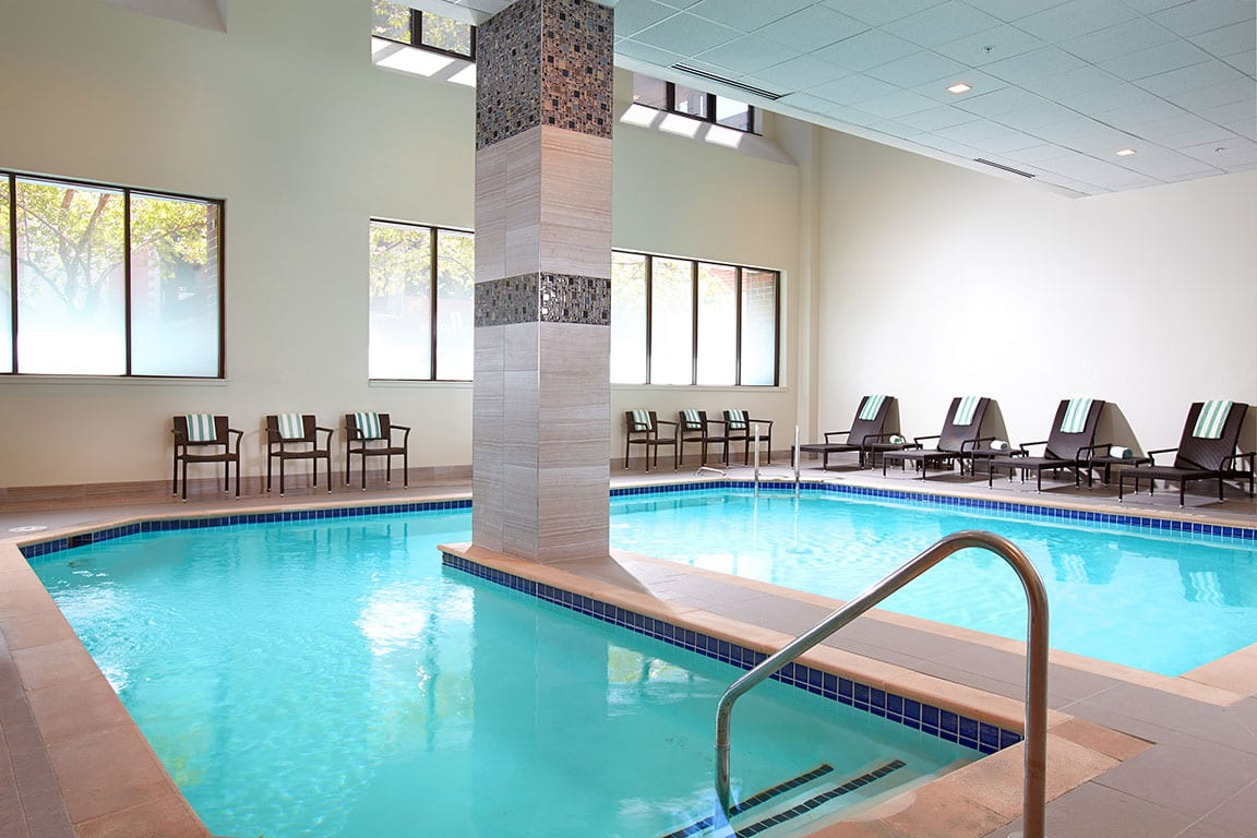 Indoor Pool at the District by HIlton Club in Washington DC