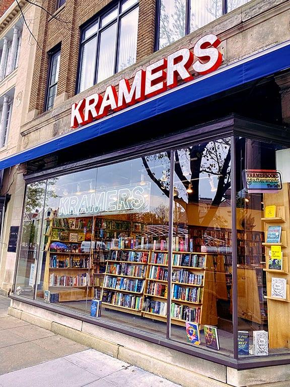 Washington DC Book Shops- Kramer's Books