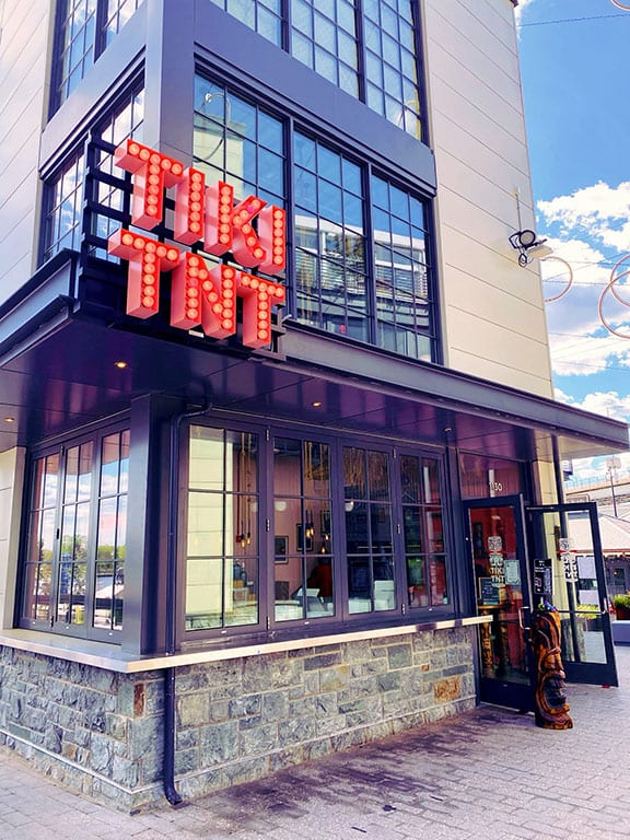 The Wharf Restaurants Tiki TNT and Potomac Distilling Company in Washington DC