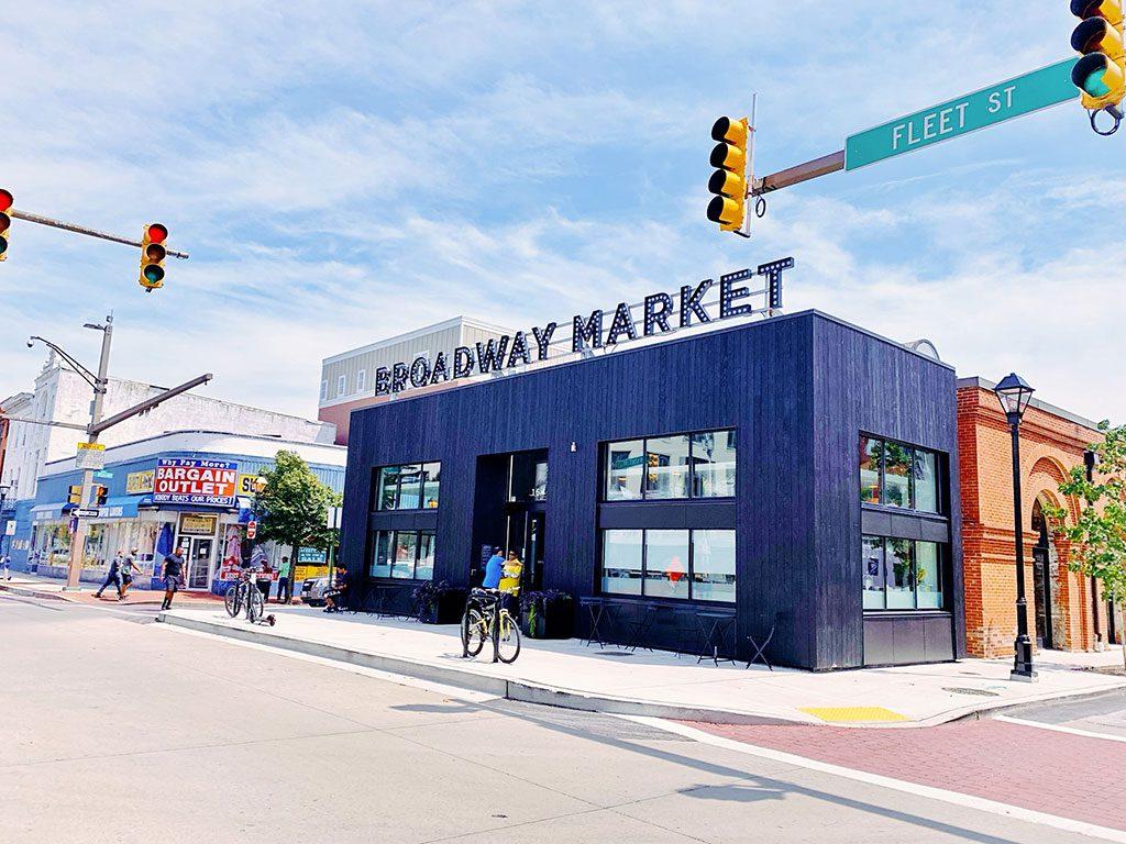 Broadway Market in Baltimore MD
