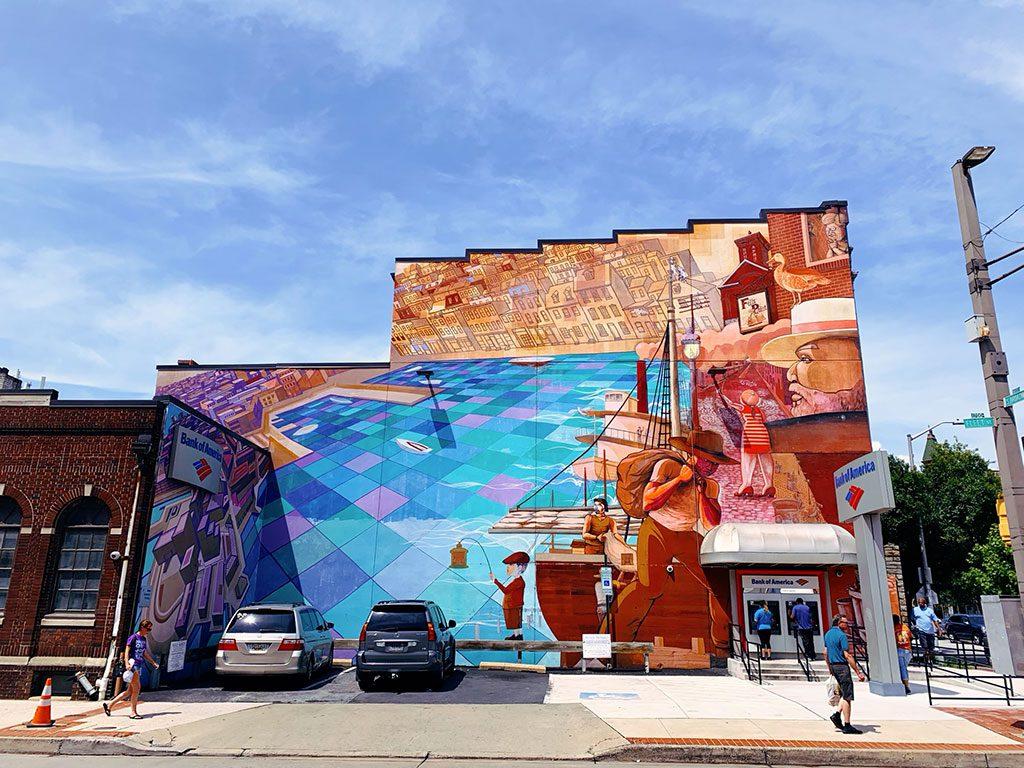 Fells Point Neighborhood in Baltimore Maryland