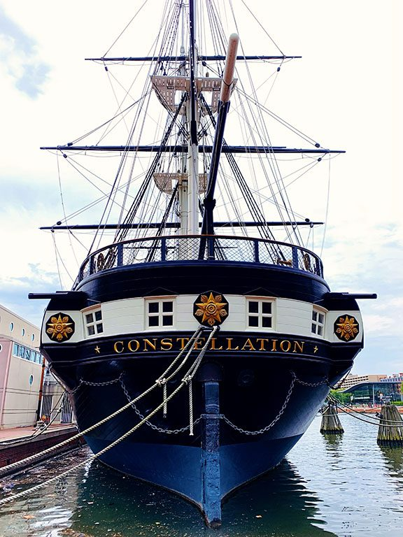 Maritime Museums in the Baltimore's Inner Harbor Maryland