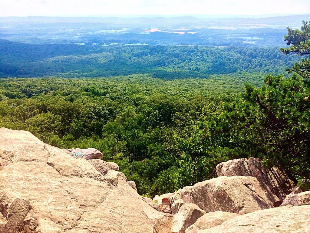 Sugarloaf Mountain in Maryland